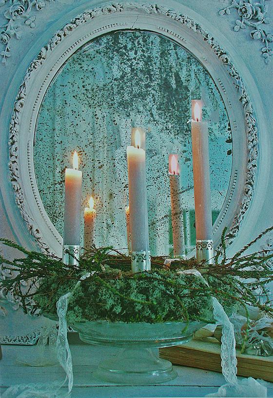 kerst spiegel